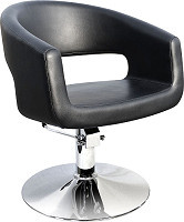 "Hairway Friseurstuhl ""Retro"" schwarz"